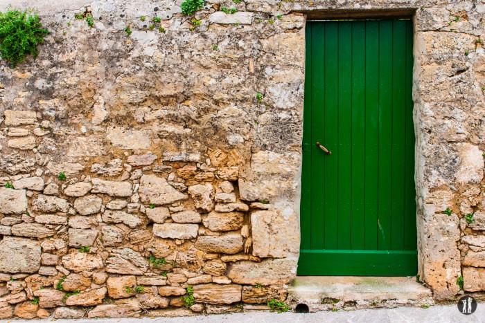 Mallorca - Inseldörfer - Grüne Tür