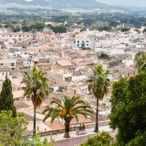Mallorca - Inseldörfer - Arta Aussicht
