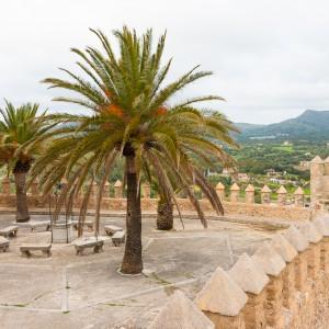 Mallorca - Inseldörfer - Arta Burg