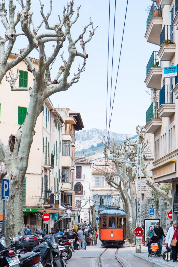 Mallorca - Inseldörfer - Soller Tram