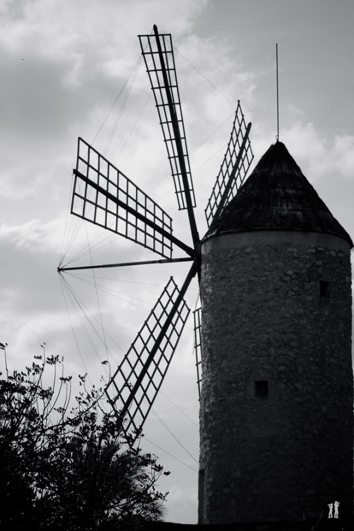 Mallorca - Inseldörfer - Windmühle