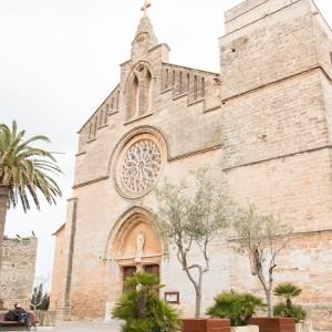 Mallorca - Inseldörfer - Alcudia Kirche